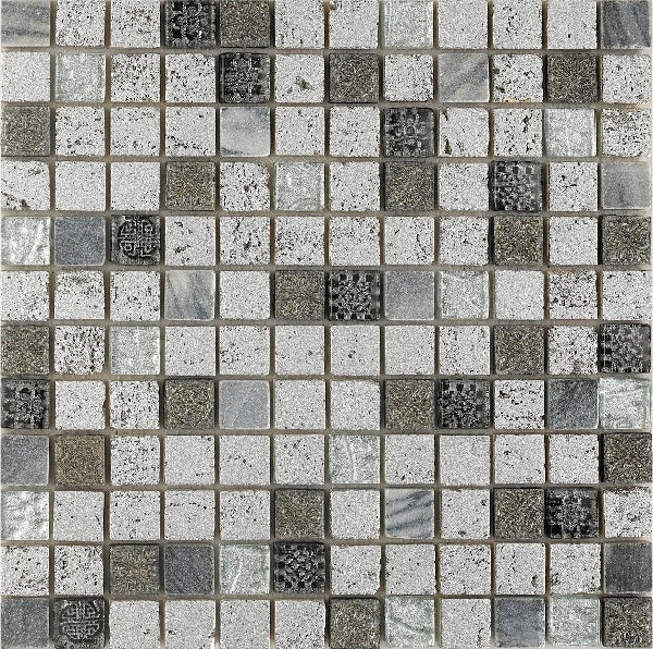 Imperium Silver Mosaic - Discount Tile And Stone Warehouse