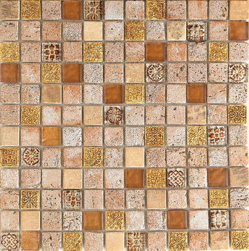 Imperium Gold Mosaic - Discount Tile And Stone Warehouse
