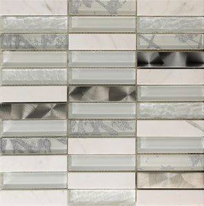 Artist White Mosaic - Discount Tile And Stone Warehouse