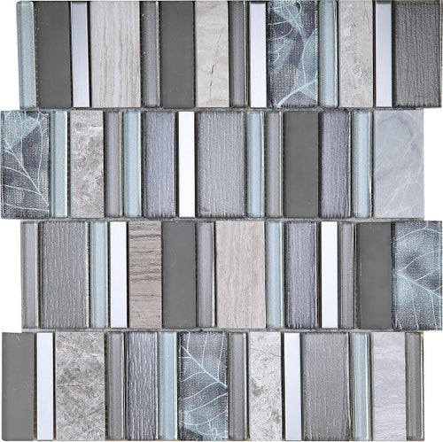 Stripes Sunset Mosaic - Discount Tile And Stone Warehouse