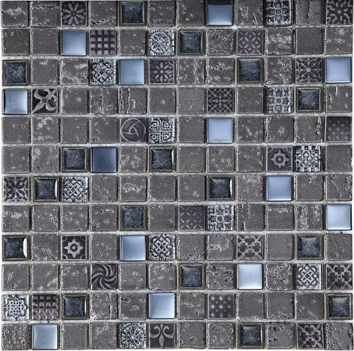 Imperium Graphite Mosaic - Discount Tile And Stone Warehouse