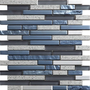 Quartz Grey Mosaic - Discount Tile And Stone Warehouse