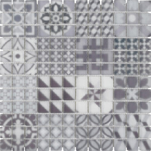 Marrakech Polar Mosaic - Discount Tile And Stone Warehouse