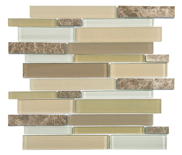 Mojave Almond Mosaic - Discount Tile Supplies