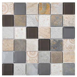 Elements Beige Mosaic - Discount Tile And Stone Warehouse
