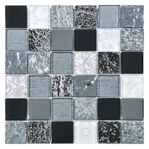 Elements Black Mosaic - Discount Tile And Stone Warehouse