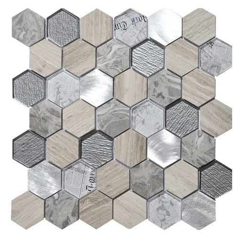 Tour Grey Mosaic - Discount Tile And Stone Warehouse