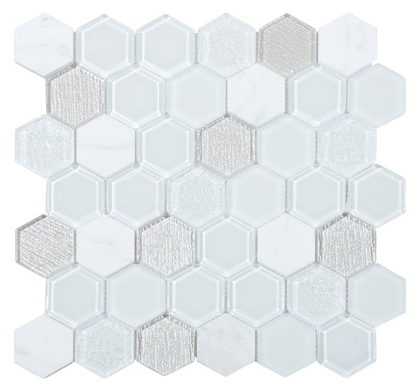 Tour White Mosaic - Discount Tile And Stone Warehouse