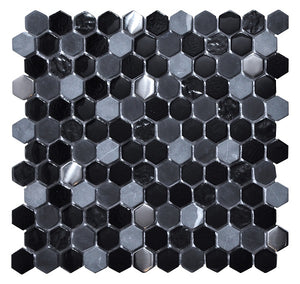 Living Black Mosaic - Discount Tile And Stone Warehouse
