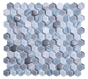 Living Grey Mosaic - Discount Tile Supplies