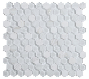Living White Mosaic - Discount Tile And Stone Warehouse