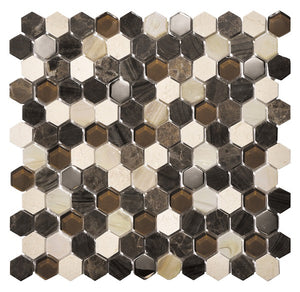 Living Brown Mosaic - Discount Tile And Stone Warehouse