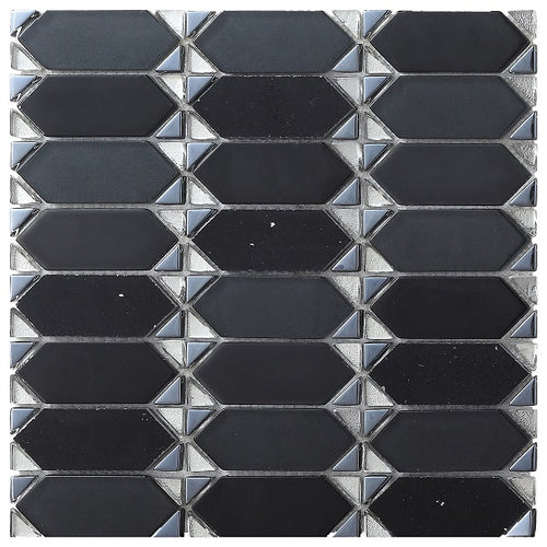 Vintage Black Mosaic - Discount Tile And Stone Warehouse