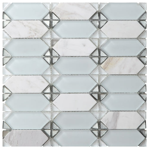 Vintage White Mosaic - Discount Tile And Stone Warehouse