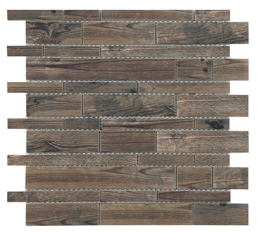 Unique Brown Mosaic - Discount Tile And Stone Warehouse