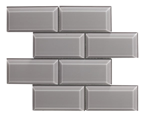 Metro Bevel Grey Mosaic - Discount Tile And Stone Warehouse