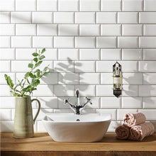 Metro White Gloss Wall Tile - Discount Tile Supplies