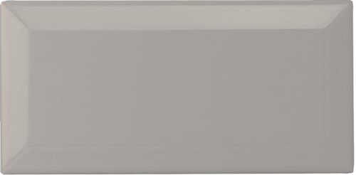 Metro Bevel Light Grey Gloss Wall Tile - Discount Tile And Stone Warehouse