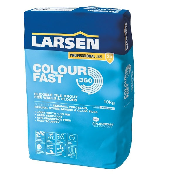 Colourfast 360 Tile Grout 10kg - Discount Tile And Stone Warehouse