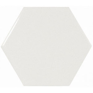 Hexagon White Gloss Wall Tile - Discount Tile And Stone Warehouse
