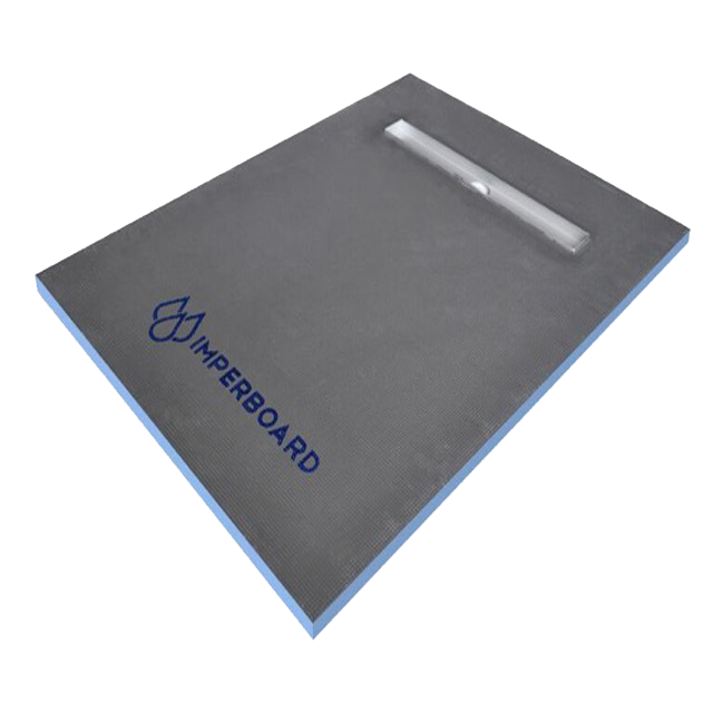 Imperboard 900 x 1500mm Linear Drain Rectangle Shower Tray - Discount Tile And Stone Warehouse