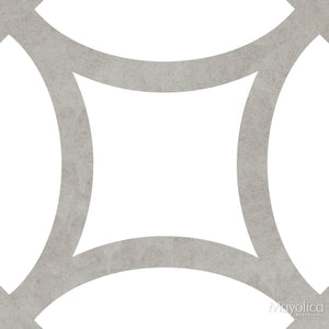 District Figure Floor Tile