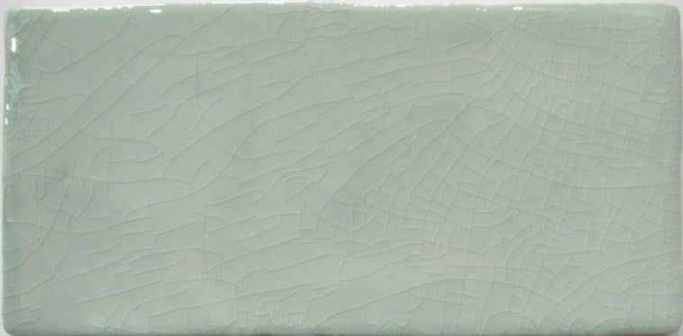 Cottage Crackle Glazed Mint Wall Tile