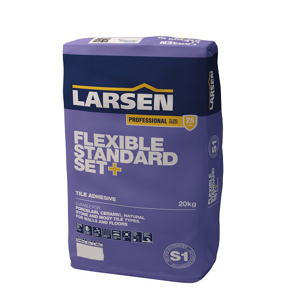 Pro Flexible Standard Set+ Adhesive 20kg - Discount Tile And Stone Warehouse