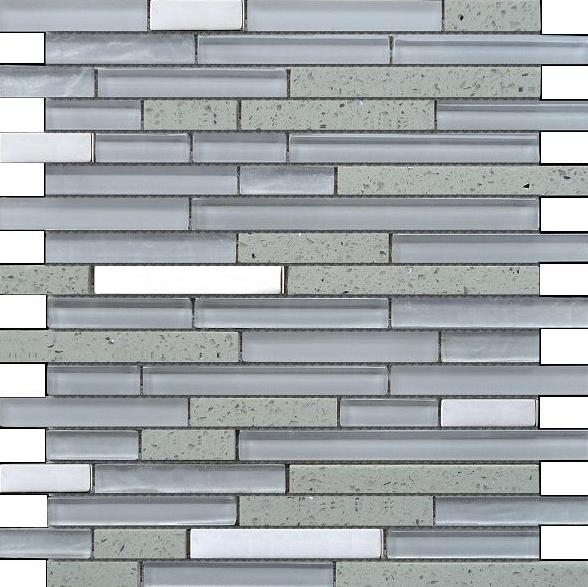 Quartz White Mosaic - Discount Tile And Stone Warehouse