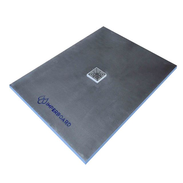 Imperboard 900 x 1200mm Centre Drain Rectangle Shower Tray