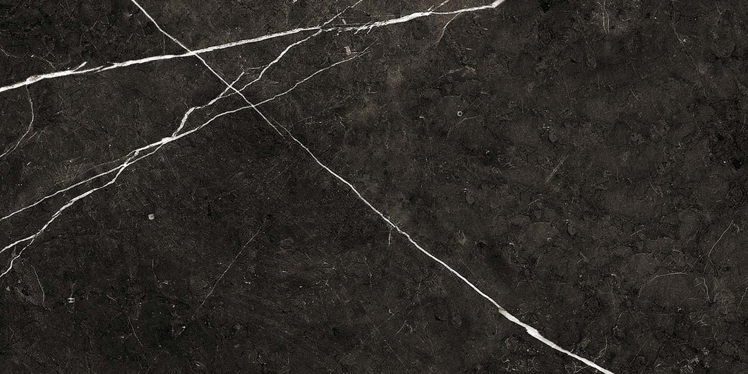 Thalassa Black Matt Floor Tile - Discount Tile And Stone Warehouse