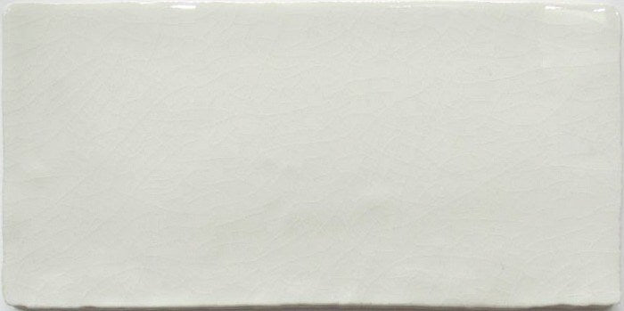 Cottage Crackle Glazed White Wall Tile - Discount Tile And Stone Warehouse
