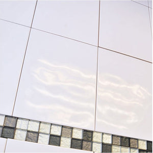 Super Relief Bumpy White Wall Tile - Discount Tile And Stone Warehouse