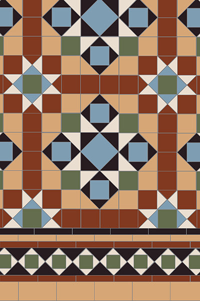 Original Style Osborne Pattern - Discount Tile And Stone Warehouse
