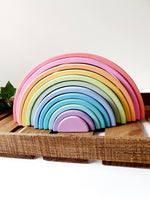 PRE ORDER 50% FINAL PAYMENT ONLY -  Large 12 Arch Rainbow Stacker