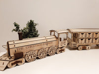 CHRISTMAS EXPRESS TRAIN ADVENT CALENDER