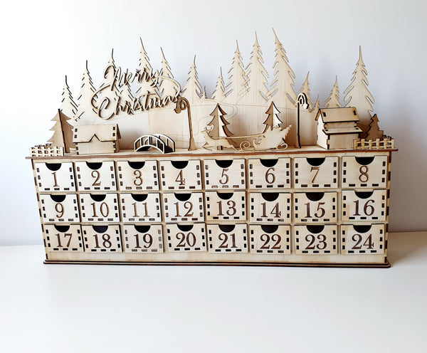 Christmas Town Advent Calender
