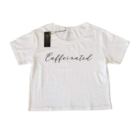 Caffeine & Kilos Ladies Caffeinated Loose Fit Crop