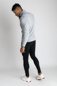 Gym King Men's Andras Roll Neck Ribbed Sweater