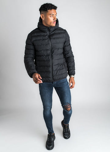 Gym King Men's Core Puffa Jacket