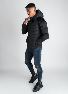Gym King Men's Bones Padded Jacket