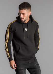 Gym King Men's Stripe Tape Pullover Hoodie
