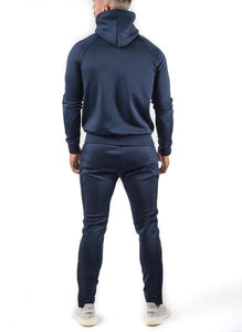 Gym King Men's Tapered Poly Tracksuit Jacket