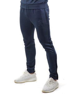 Gym King Men's Tapered Poly Tracksuit Pants