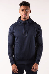 Gym King Men's 1/4 Zip Poly Tracksuit Top