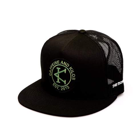 Caffeine & Kilos Beach Bum Trucker Hat