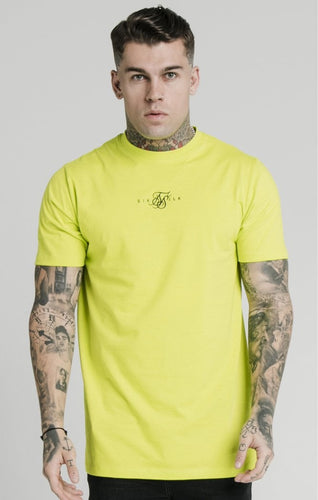 SikSilk Men's S/S Square Hem T-Shirt