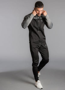 Gym King Men's Capo Panel Poly Tracksuit Top