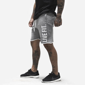 LVFT Men's French Terry Live Fit Shorts