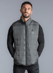 Gym King Men's Fast Hoodless Gilet